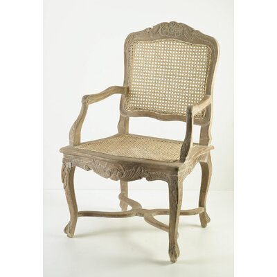 AA Importing Cane Arm Chair
