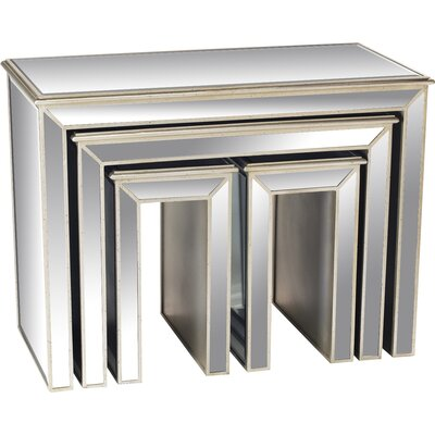 AA Importing 4 Piece Nesting Tables