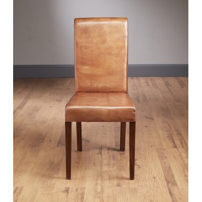 AA Importing Leather Parsons Chair