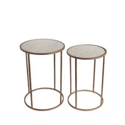 Brayden Studio Iasos 2 Piece End Table Set