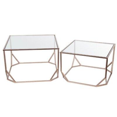 Mercury Row Aarav 2 Piece Nesting Tables