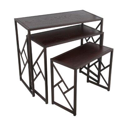 Mercury Row Abbott Way 3 Piece Nesting Tables