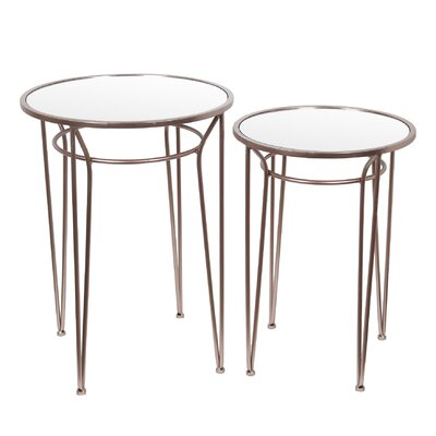 Mercury Row Abbas 2 Piece Nesting Tables
