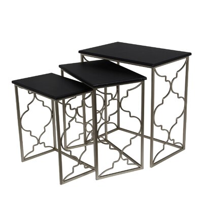 Mercer41 Cambron 3 Piece Nesting Tables