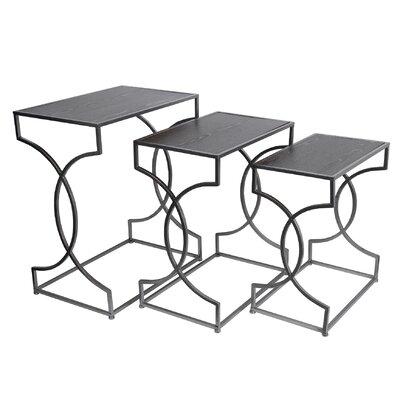 Mercer41 Cahn 3 Piece Nesting Tables