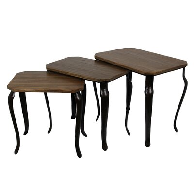 Loon Peak Roy 3 Piece Nesting Tables