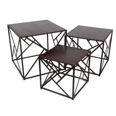 Mercury Row Abdallah 3 Piece Nesting Tables