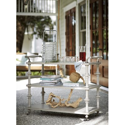 Paula Deen Home Dogwood Serving Cart