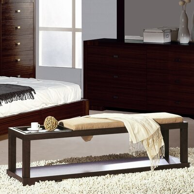 Hokku Designs Parson Wooden Bedroom Bench