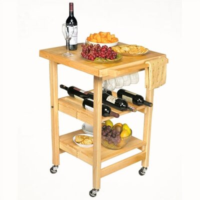 Oasis Concepts Entertainer Folding Kitchen Cart ..