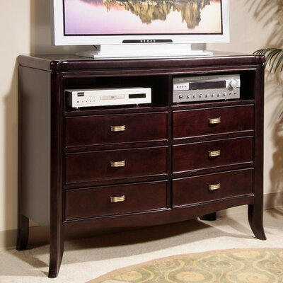 Somerton Dwelling Signature 6 Drawer Media Chest