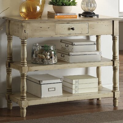 Anthony California Colonial Console Table
