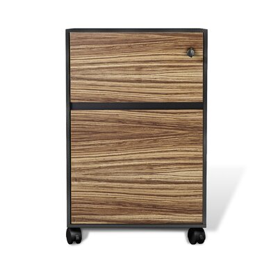 Unique Furniture 400 2-Drawer Mobile Pedestal