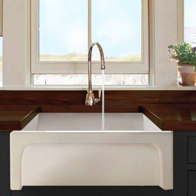 "Nantucket Sinks 30"" x 18"" Chatham Single Bowl Kitchen Sink ..."