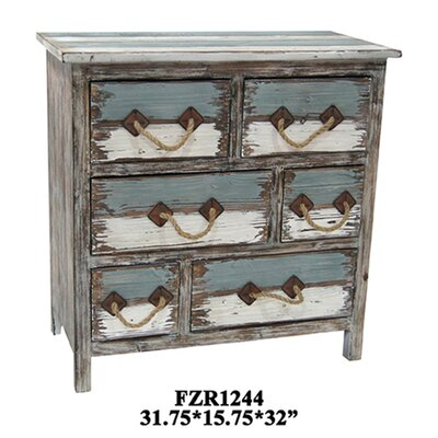 Crestview Collection Nantucket 6 Drawer Chest