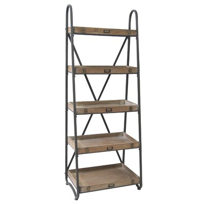 Crestview Collection Voyager Metal and Wood Tiered 67