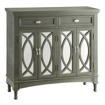 Crestview Collection Park Avenue Mirror Sideboard