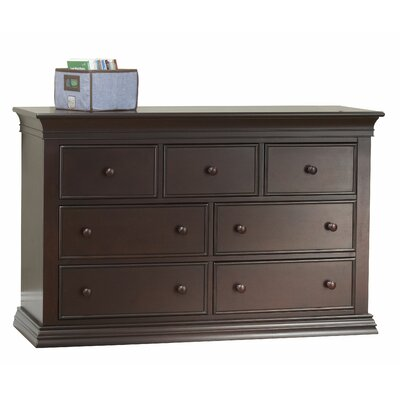 Sorelle Verona 7 Drawer Double Dresser