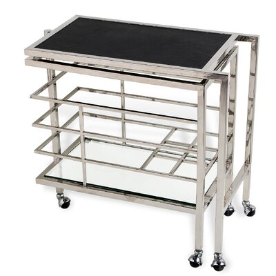 Interlude Maxwell Serving Cart