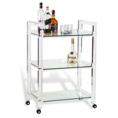 Interlude Ava Bar Serving Cart