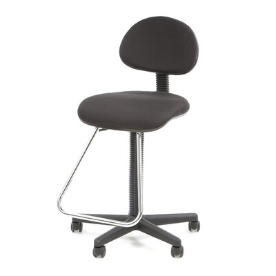 Varick Gallery Ryckman Low-back Drafting Chair with Footrest