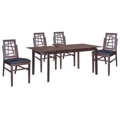 New Spec Inc Cafe 5 Piece Dining Set