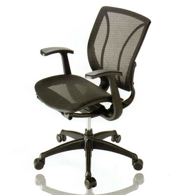 New Spec Inc Mid-Back Mesh Conference Chair with Arm Image