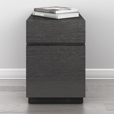 Furnitech Signature Home 2-Drawer Rolling File Pedestal