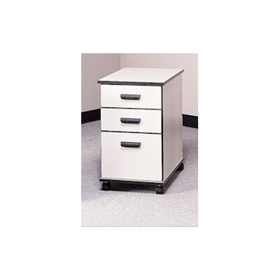 Fleetwood Solutions 3-Drawer Mobile File Cabinet Image