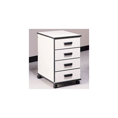 Fleetwood Solutions 4-Drawer Mobile File Cab..