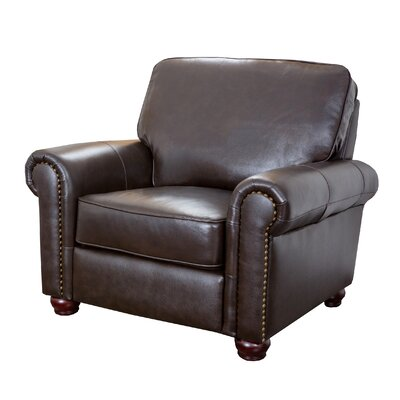 Darby Home Co Coggins Leather Chair