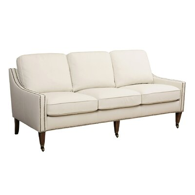 Abbyson Living Macie Bonded Leather Sofa Reviews Wayfair