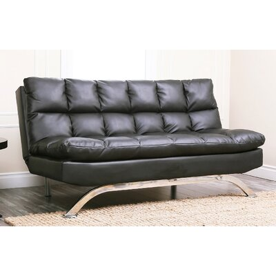 Abbyson Living Reedley Bonded Leather Sleeper Sofa