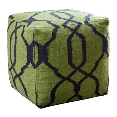 Darby Home Co Dallon Lattice Square Pouf Ottoman