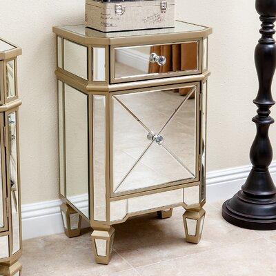 Mercer41 Westward Mirrored End Table