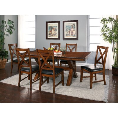 Red Barrel Studio Lockwood 7 Piece Dining Set