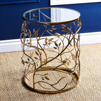 Bungalow Rose Ryad End Table