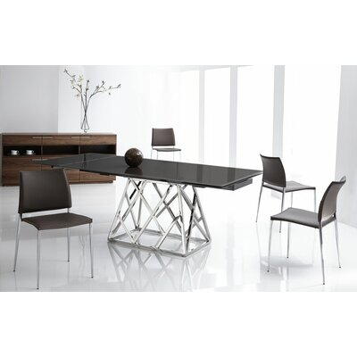 Bellini Modern Living Twist Expandable Dining Table