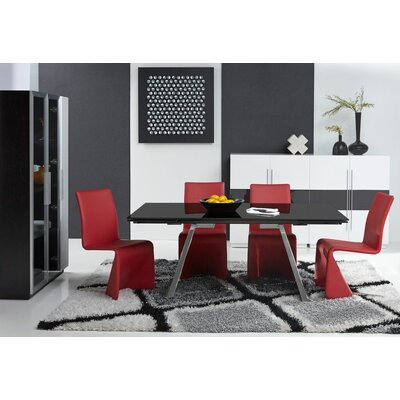 Bellini Modern Living Penthouse Expandable Dining Table