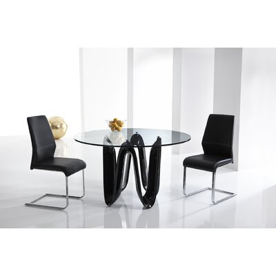 Bellini Modern Living Sapphire Dining Table