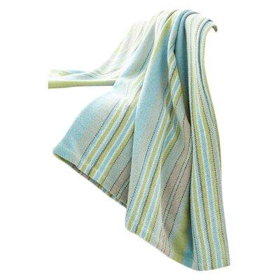 Dash and albert rugs aquinnah woven cotton throw blanket for Dash and albert blanket
