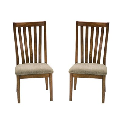 Imagio Home by Intercon Highland Park Slat Back Side Chair (Set of 2)