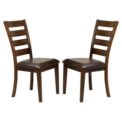 Imagio Home by Intercon Kona Ladder Back Side Chair (Set of 2)