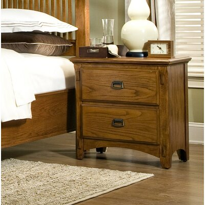 Imagio Home by Intercon Pasilla 2 Drawer Nightst..