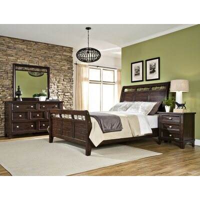 Imagio Home by Intercon Haven Sleigh Customizable Bedroom Set