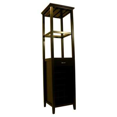 Proman Products Galina 18 Bottle Floor Wine Cabinet