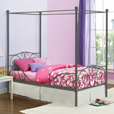 DHP Twin Canopy Bed