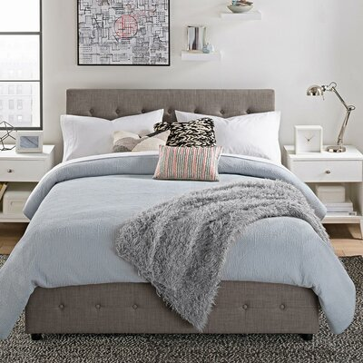 Brayden Studio Morphis Upholstered Storage Panel Bed