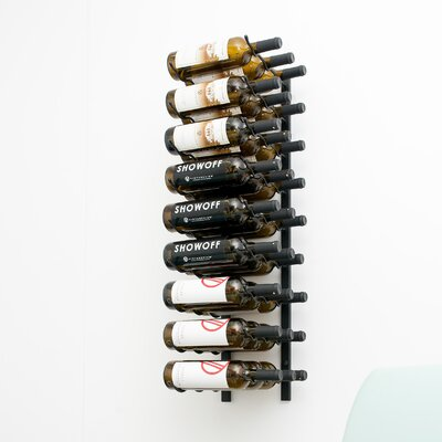 VintageView Wall Series 27 Bottle Wall Mounted Wine Rack