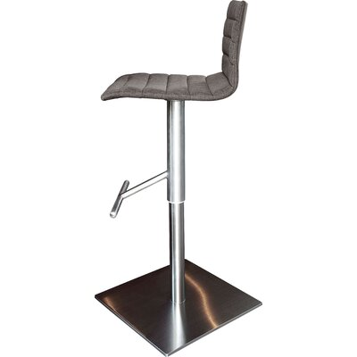 Domitalia Jam Adjustable Height Swivel Bar Stool